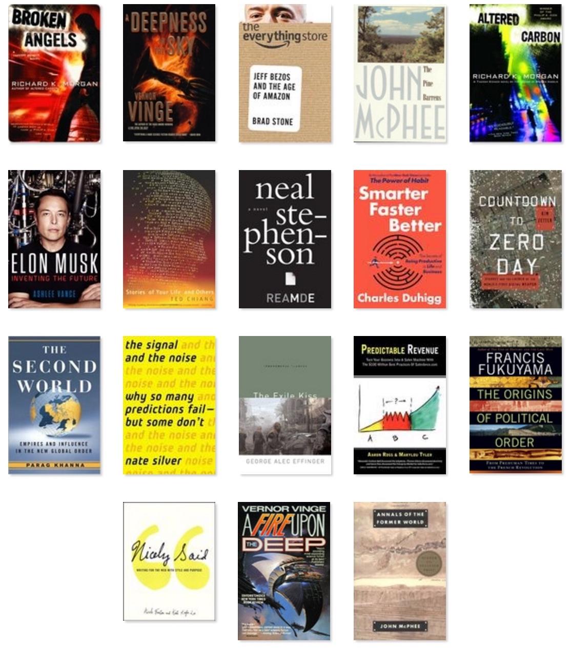 Books of 2016