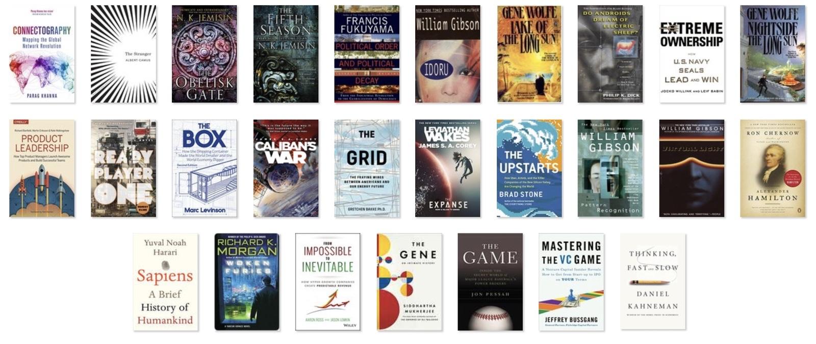 Books of 2017