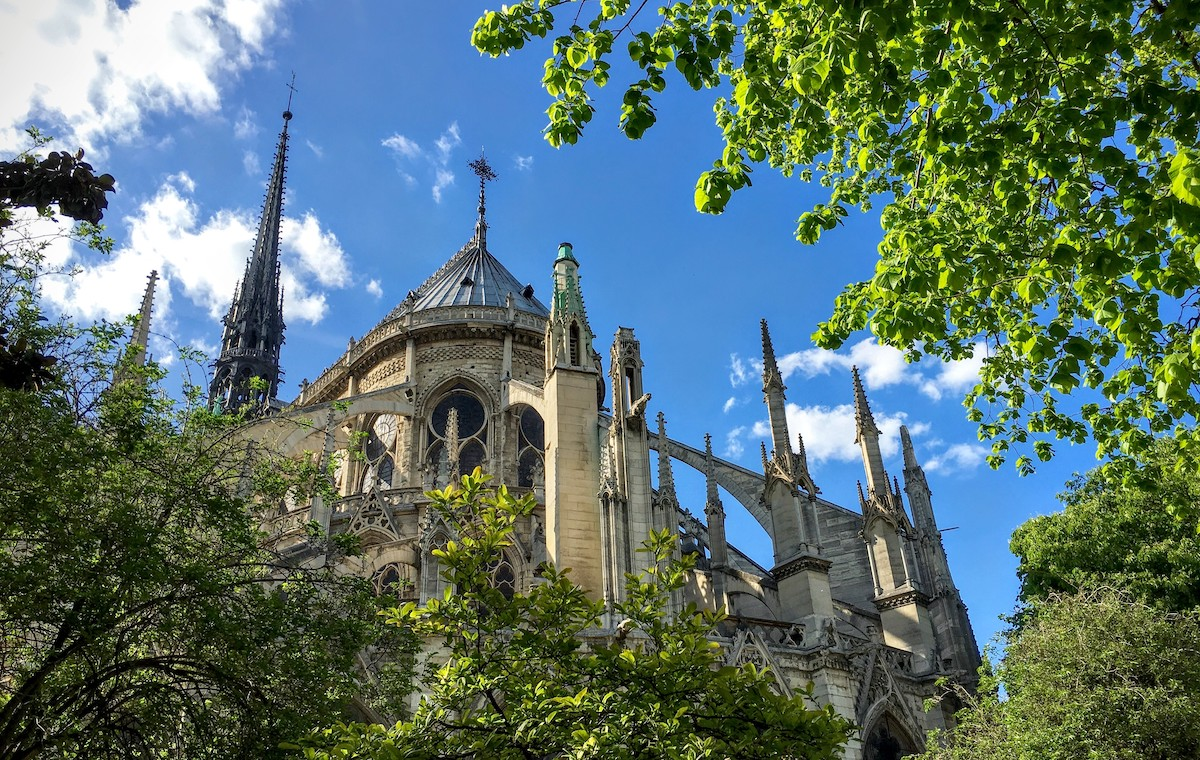 The Flying Buttresses of Notre Dame