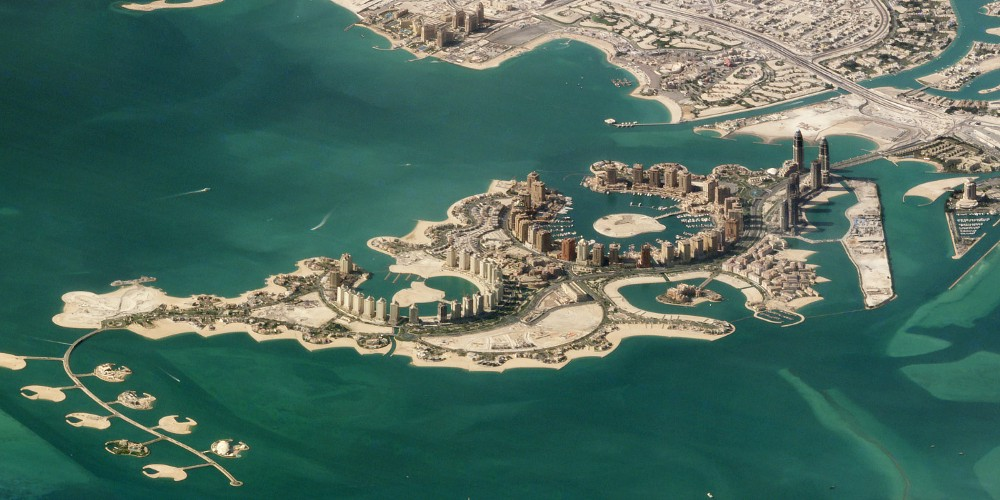 The Pearl islands, Doha