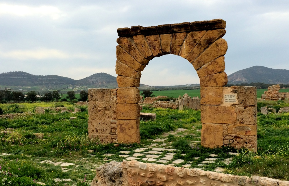 Punic arch
